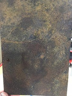 Sample of Porter's Speciality Finish Liquid Iron and Instant Rust Orchid, Rust, It Is Finished, Iron, Inspiration, Biblical Inspiration, Orchidaceae, Orchids, Inhalation