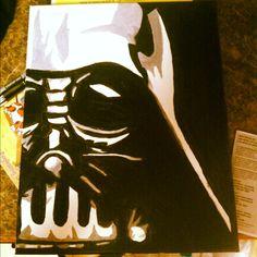 Darth Vader  painting star wars