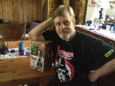 It's Mark Hamill. likes. The many faces of Mark Hamill. This is a FAN PAGE dedicated to Mark's career! Sci Fi Horror, Horror Show, Horror Movies, Famous Movies, Famous Faces, Mark Hamill, Creature Feature, Great Movies, Cool T Shirts