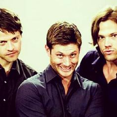 Supernatural--hahha these guys are too much.