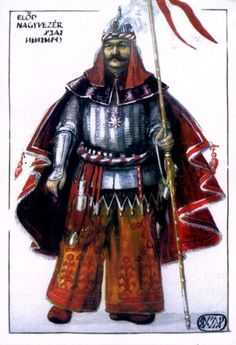 Előd nagyvezér World History, Art History, Hungarian Women, Heart Of Europe, Historical Pictures, Military History, Hungary, Retro, Samurai