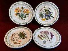 "44) Good set of six Portmeirion Botanic Gardens 10.5"" dinner plates (6) Est. £35-£50"