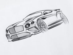 Bentley teams up with Royal College of Art to explore the future of British luxury Design Cars, Car Design Sketch, Car Sketch, Cool Car Drawings, Drawing Sketches, Iron Man Hulkbuster, Breathing Mask, Etch A Sketch, Tattoo Project