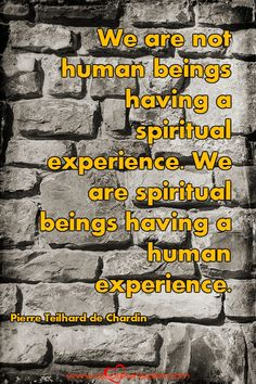 We are not human beings having a spiritual experience. We are spiritual beings having a human experience. Trust Words, Bad Feeling, Inspiring Quotes, All About Time, Life Quotes, Spirituality, Faith, Feelings, Life Inspirational Quotes