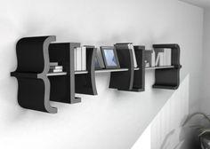 Equation bookshelf storage organization bookshelves life hacks cool bookshelf ideas