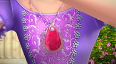 Sofia's Pink Amulet Begins To Glow
