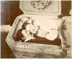 "These photos bring a whole new meaning to the phrase, ""Dead Gorgeous.""  	   	Post-Mortem photography was highly common during the Victorian Era, as loved ones desired to have photos to remember the deceased by. Sometimes, these photos included both the deceased and the living.   	   	Check out the haunting and bizarre images below. Try not to get the creeps."