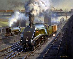 Railway Paintings by Philip D Hawkins FGRA