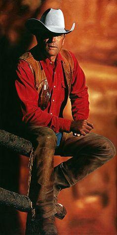 Cowboy #10 - 120x240cm Olieverf