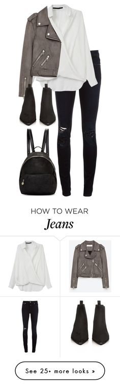 """Untitled #2953"" by elenaday on Polyvore featuring Closed, Jakke, Acne Studios and STELLA McCARTNEY"