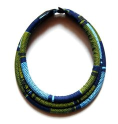 Male Massai necklace 3ROW in wax