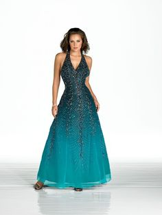 Floor length dress with intricate detailing from Manon.