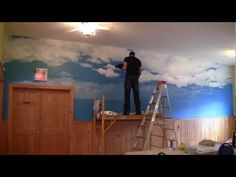 Learn to paint an OCEAN PARADISE mural with JOE PAGAC! - YouTube