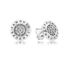 Pandora Signature Stud Earrings WOMEN'S JEWELRY http://amzn.to/2ljp5IH