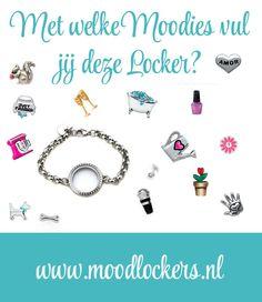 www.moodlockers.nl Moodlockers, jouw persoonlijke sieraad waarvan je de inhoud kunt wisselen. Open je locker, wissel je moodies, en laat zien waar jij voor staat!