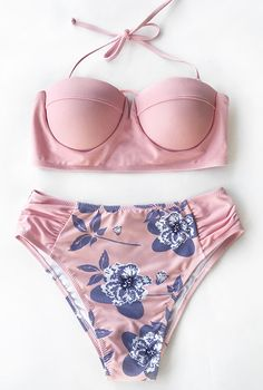 Have some fun in the sun! From poolside to the beach, adorable pink bikini set is more than a colorful way to play in style. So hot & chic you are! Free Shipping. Check your favourites out at Cupshe.com !