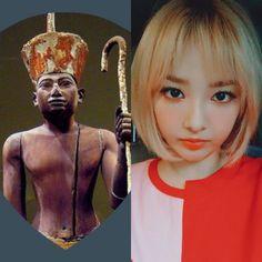 EgyptianCabins&KPOP // Imhotep // NewSun of SONAMOO