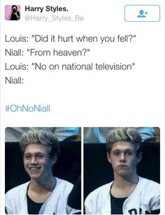 oh no niall