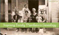 Inspiring Family Members in Genealogy