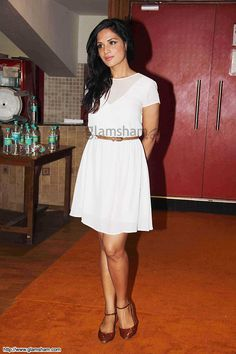 Richa Chadda In Short Frock at Bollywood Beauties In Hot Short Frocks picture gallery picture # 22 : glamsham.com