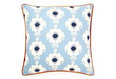 Love for the porch: Rise 20x20 Outdoor Pillow, Blue on OneKingsLane.com