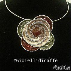 #gioiellidicaffe #capsule #nespresso #reciclo #jewelry #jewels #jewel #flower…