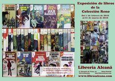 """Estás en Madrid? Visita la exposición sobre libros de la Colección """"Reno"""" de la editorial Plaza y Janes de los años 70 y 80 de Libros Alcaná ➡ www.uniliber.com"""
