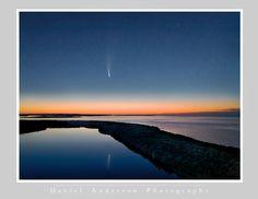 Comet Neowise & Europe Lake, Door County 7-13-20 - Daniel Anderson Door County, Europe, Doors, Beach, Water, Outdoor, Gripe Water, Outdoors, The Beach