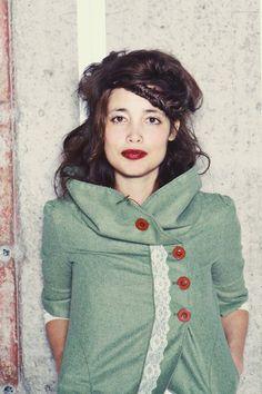 Ada Coat by LittleHouses on Etsy