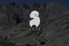 Goat logo design on Behance