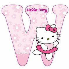 Escuela infantil castillo de Blanca: ALFABETO HELLO KITTY Hello Kitty Art, Hello Kitty Themes, Hello Kitty Birthday, Cat Birthday, Hello Kitty Iphone Wallpaper, Hello Kitty Backgrounds, Kitty Images, Hello Kitty Pictures, Alphabet Letters Design