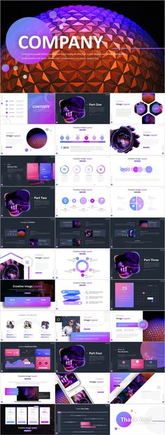 Creative Company Report PowerPoint template on Behance Cool Powerpoint Backgrounds, Simple Powerpoint Templates, Professional Powerpoint Templates, Keynote Template, Power Points, Good Presentation, Business Presentation, Business Design, Business Company