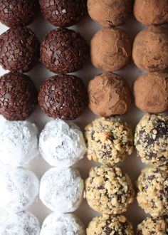 chocolate peanut butter truffles + 9 other delicious truffle recipes