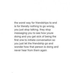 Friendship Quotes : Today I saw my ex best friend, and I finally told her what a horrible friend she. - About Quotes : Thoughts for the Day & Inspirational Words of Wisdom Ending Quotes, Now Quotes, Real Quotes, True Quotes, Words Quotes, Quotes To Live By, Year End Quotes, Letting People Go Quotes, Let Them Go Quotes