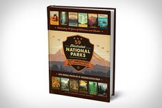 Joel Anderson, his son Nathan, and the rest of his team of designers set out to create a poster for each of the National Parks in honor of their 100th anniversary. The project ended up being a bit more involved...