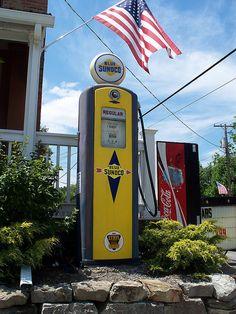 Sunoco Gas Pump......Fowler, Ohio.