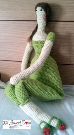 tilda crochet ganchillo doll amigurumi najma10