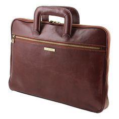 Tuscany Leather Caserta Leather Document Briefcase