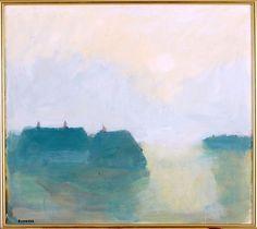 bofransson:  Evening Light - Hven, by Gustav Rudberg