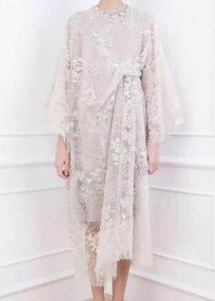 Dress brokat muslimah hijab fashion 22 trendy Ideas - Another! Dress Brukat, Hijab Dress Party, Batik Dress, Party Gowns, Chic Dress, Dress Lace, Kebaya Lace, Kebaya Dress, Dress Pesta