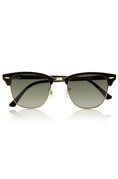 4.- Unas gafas de sol con herencia. classic clubmaster sunglasses rayban