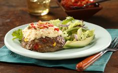 South of the Border Meatloaf – Nothing is more American than meat & potatoes but that doesn't mean it can't have a Mexican twist on it! Get recipe here: http://idahoan.com/recipes/south-of-the-border-mashed-potatoes-meatloaf/