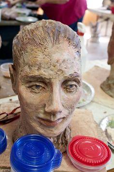 Debra Fritts Sculpture Workshop Sculpture from workshop participant.
