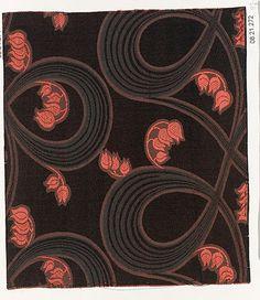 silk, 1900