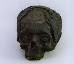 This mummified head passed through numerous hands over the years and was stored in bible box before it ended up in a display case at the Museum of Witchcraft.  After it was donated to the museum, it was named Harry the Head.  Recently, Dr Martin Smith of Bournemouth University, conducted extensive research on this skull, including an x-ray and a CT scan. The CT scan revealed a substance in the skull consistent with resins used on Egyptian mummies after the brain was removed. This evidence…