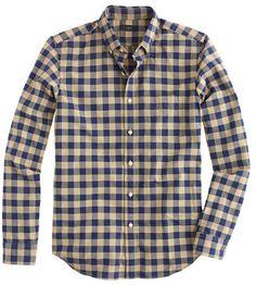 J.Crew Slim vintage oxford buffalo check shirt on shopstyle.com