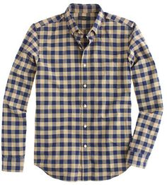 J.Crew Slim vintage oxford buffalo check shirt on shopstyle.com