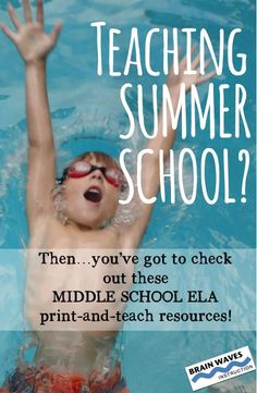 Make summer school is a SPLASH with these print-and-teach resources.  You'll find everything you need for a successful summer school teaching and learning experience...everything from first day activities to summer reading projects to 6-week themed units.