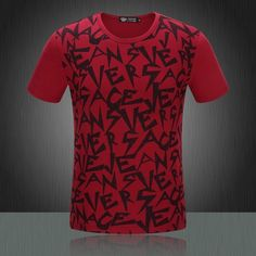 189 Versace Hip Hop T-Shirt Pour Hommes Pas Cher discount c marca outlet  the online d9134547f997