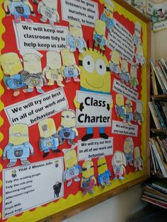 Change to Social Contract and have each kid make and sign a minion.